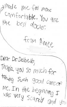 """Thank You Dr. DelBello!"""